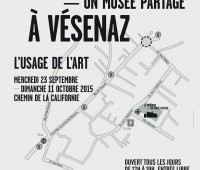 Le Voyageur à Vésenaz — Vernissage de l'Usage de l'art