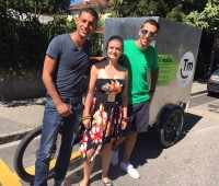 Benjamin, Valérie et Flavio ont lancé Tri malin en juillet dernier. © FK