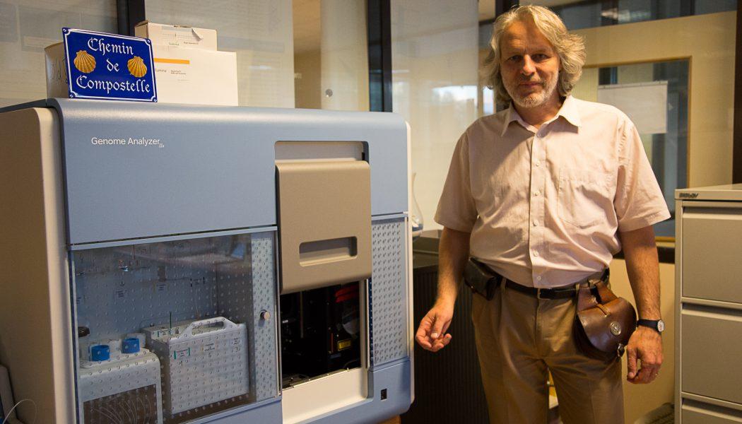 Laurent Farinelli: entre biologie de pointe et chemin de Saint-Jacques