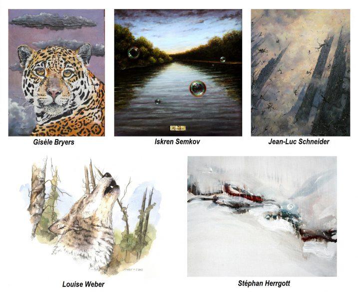 Une exposition collective à la Galerie l'Art'monie jusqu'au 10 octobre 2015 !