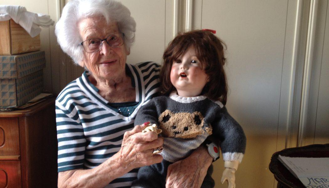 Jeanne Matti, une centenaire très alerte