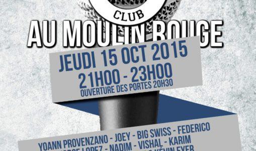 Rire et humour au Moulin Rouge : The Kémedy Club en mode Stand up !