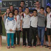 Première compétition de la saison pour nos nageurs Meyrinois