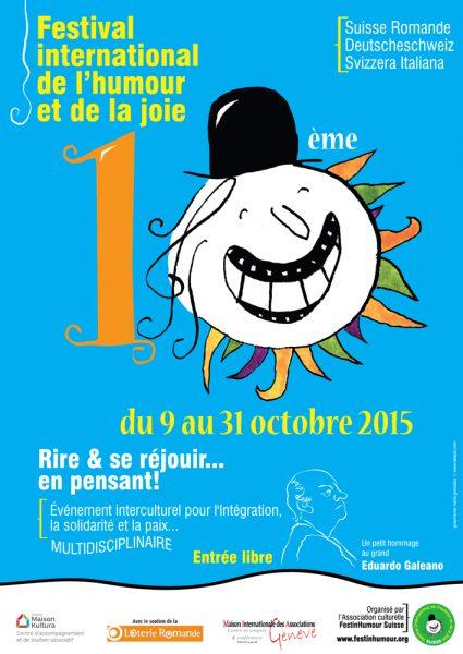 Xème FESTIVAL INTERNATIONAL DE L`HUMOUR ET DE LA JOIE