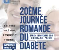 20ème Journée Romande du Diabète à Palexpo