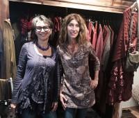 Fabienne Schaller et Stéphanie Hazart de la boutique Lubie. © FK