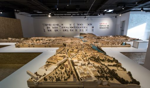 La ville expose sa maquette