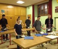 Les fifres et tambours préparent l'Escalade!