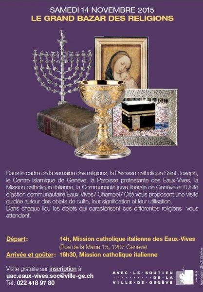 Le grand bazar des religions