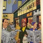 Une des affiches réalisées à l'occasion du premier anniversaire de la nouvelle gare de Cornavin. Elles y ont été exposées dans la halle centrale en septembre avec une taille de 2m sur 1,25 m. © Olivier Vogelsang