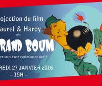 Le Grand Boum – Laurel & Hardy