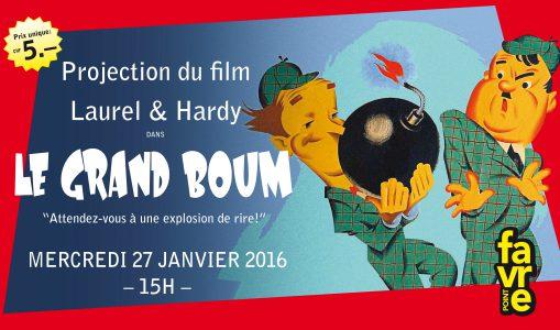 Le Grand Boum – Laurel & Hardy