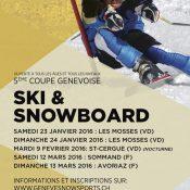 5ème Coupe Genevoise populaire de Ski Alpin et de Snowboard