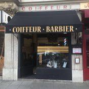 Véritable coiffeur, barbier à l'ancienne,