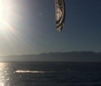 Hermance, spot de kitesurf