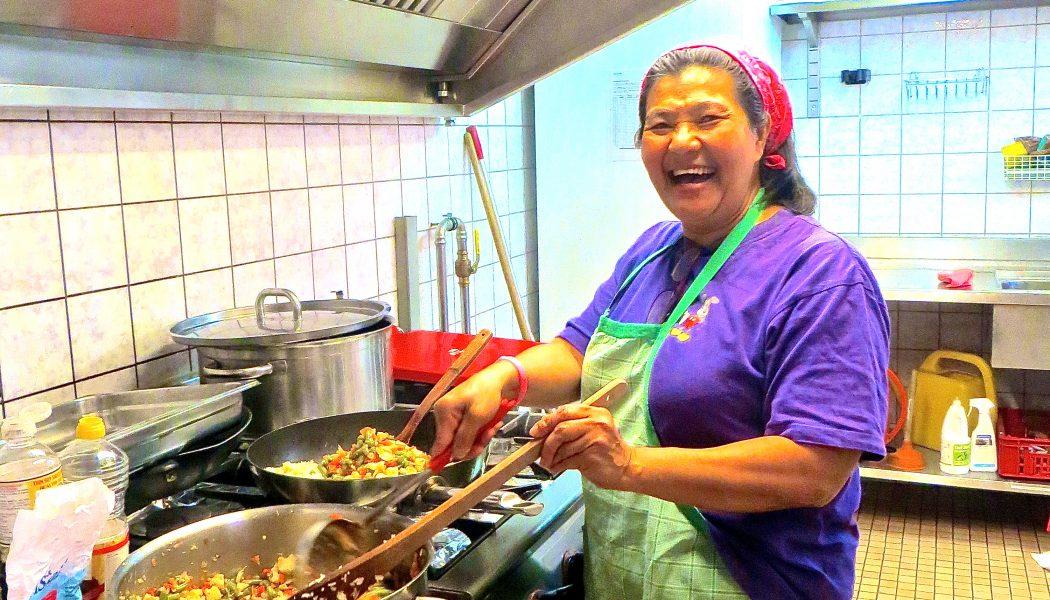 En hiver,aux Acacias,les petits plats mijotés par les gens du quartier réchauffent le coeur des habitants
