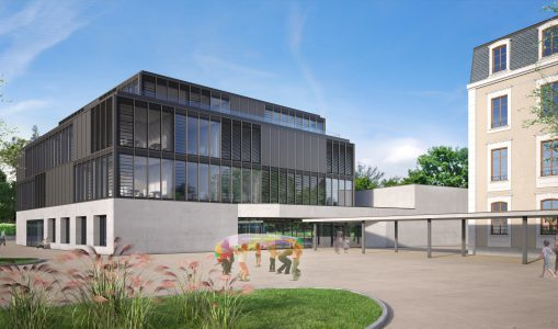 L'Institut International de Lancy se dote d'un bâtiment innovant
