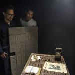 Les deux créateurs de Timescape dans leur première Escape Room. ©C. Martignoli