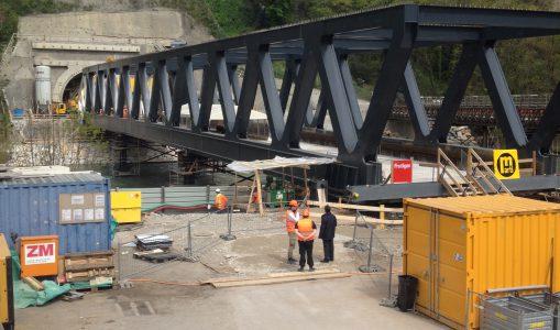 Et voici le neuvième pont sur l'Arve!