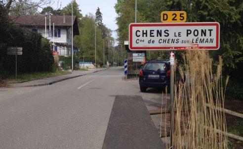 Hermance, un village en partie en France