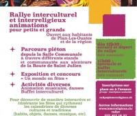 Rallye interculturel à Plan-les-Ouates