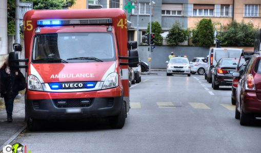 Incendie sur la ville de Chêne-Bougeries ce matin