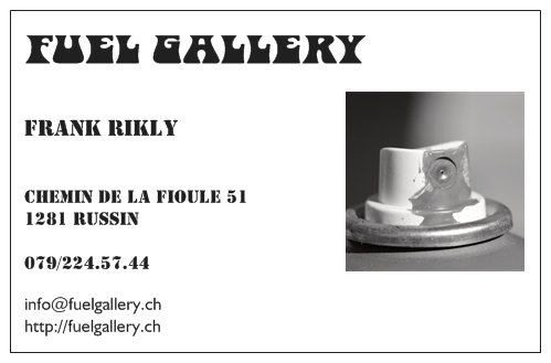 1er vernissage Fuel Gallery