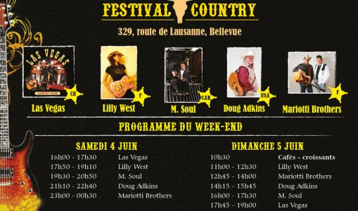 Ce week end genevois sera « Country Music » !