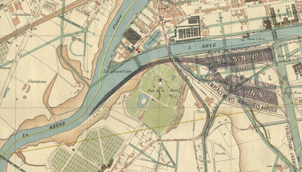 Le port fluvial de la Queue d'Arve: une attache oubliée