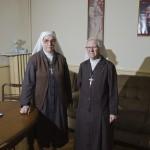 Les soeurs franciscaines Edoardina et Anna Maria. © Olivier Vogelsang