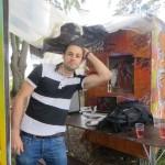 Gaëtan et son studio d'enregistrement mobile; Funky Fresh © N.D.M.S