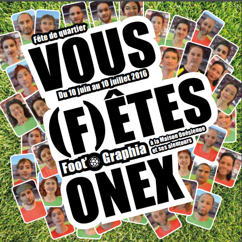 L'Euro 2016 sur fond de vous (f)êtes Onex