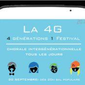 La 4G : quatre générations pour un festival