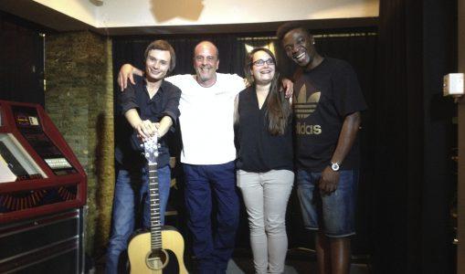 Au coin de la table avec Jessie Kobel, Christian Savary, Tamara Cesar et Edem Labah: une belle bande de potes!