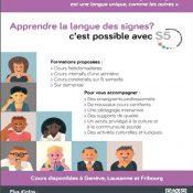 Cours de langue des signes disponibles à Genève !