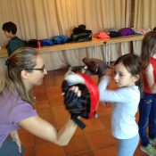 A Corsier, des cours de self-défense pour les enfants