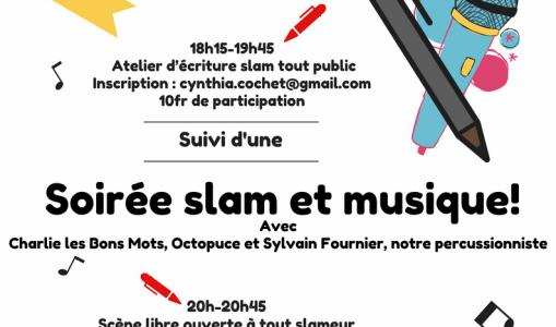Soirée Slam et musique
