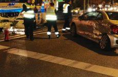 Une ambulance emboutit une voiture à Onex