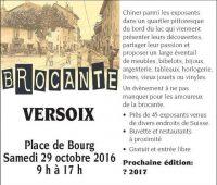 Brocante de Versoix, Un voyage dans le temps