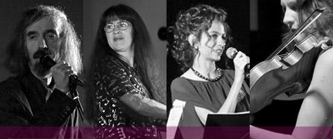 Ber Gimpel Quartet : Sasha Somish : chant - Efim Chorny : chant - Susan Ghergus : piano - Vanessa Vromans : chant, violon