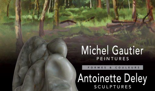 Exposition : Formes ; Couleurs, Antoinette Deley et Michel Gautier