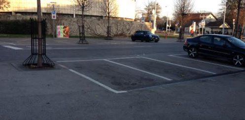 Des places de parking gratuites à Onex