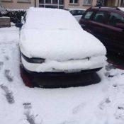 Onex plongé dans la neige
