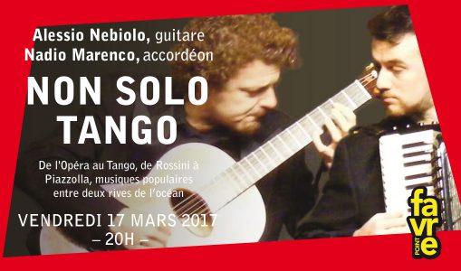 Alessio Nebiolo – Non Solo Tango