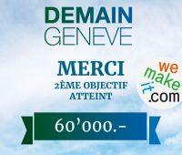 La campagne de crowdfunding pour le film « Demain Genève » remporte un succès exceptionnel en Suisse romande