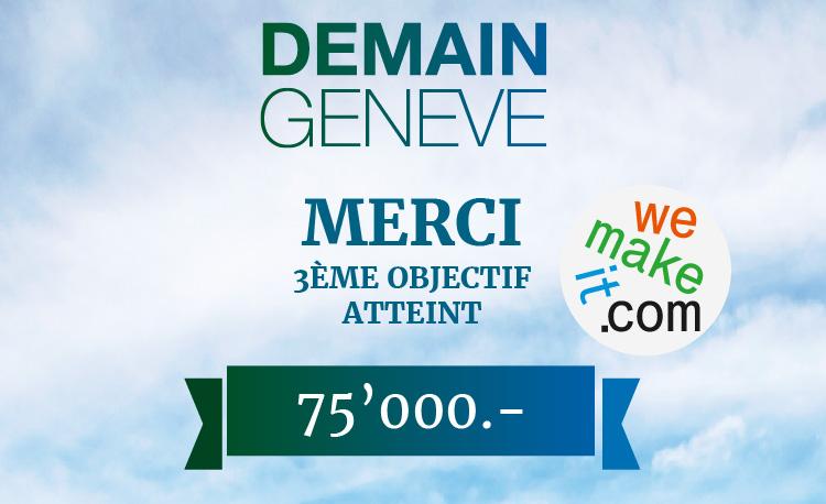 Demain Genève le film - 3ème objectif atteint