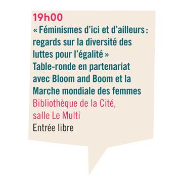 Table-ronde sur la diversité des féminismes