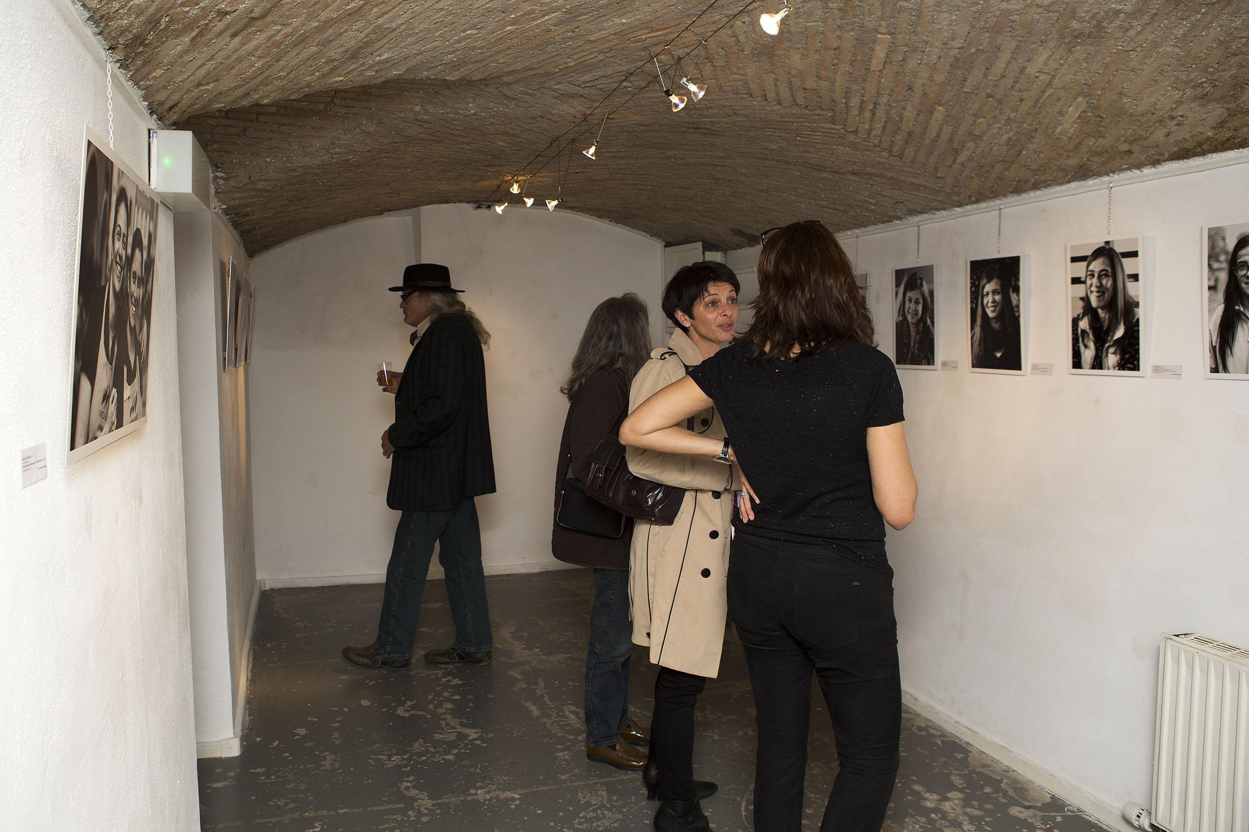 Le vernissage a eu lieu vendredi 10 mars. L'exposition se poursuit jusqu'au 26 mars.