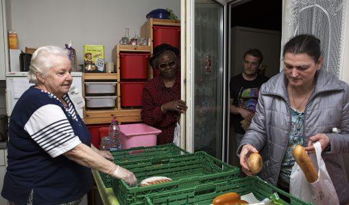 Des versoisiens solidaires créent un système d'entraide alimentaire