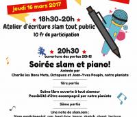 Soirée Slam, Poésie & Co